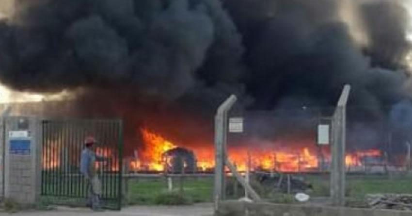 El incendio es uno de los mayores riesgos para la continuidad de una industria