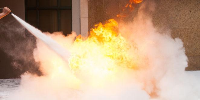 Sistemas de Extinción de Incendios a Base de Espuma
