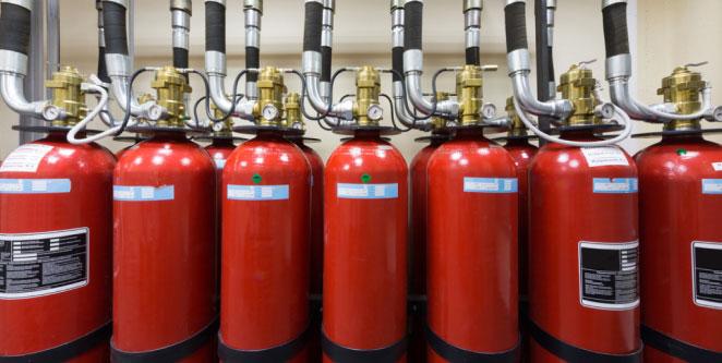 Sistemas de Extinción de Incendios a Base de Gases Inertes