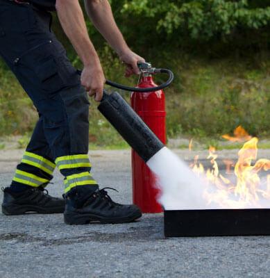 Cursos de capacitación contra incendios