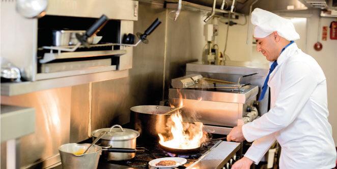 Sistemas en cocinas de restaurantes